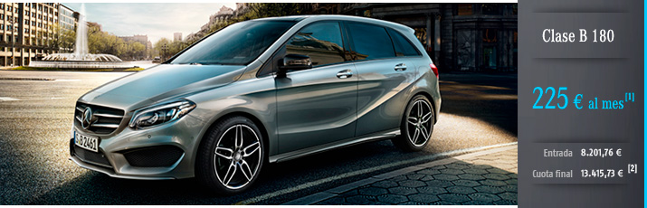 Oferta Clase B 180 con Mercedes-Benz Alternative Lease